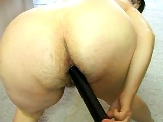 Overprotect fucks her hairy asshole